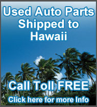 Hawaii used auto parts for sale