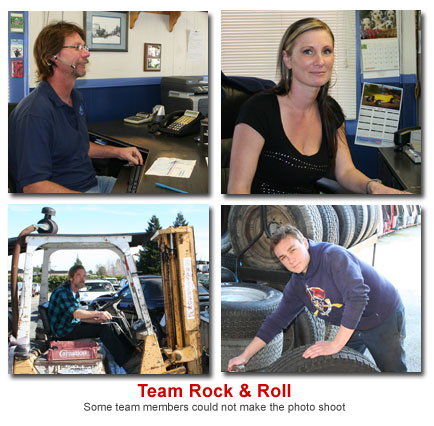 Team Rock and Roll Used Auto Parts